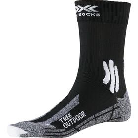 X-Socks Trek Outdoor Socken Herren opal black/dolomite grey melange